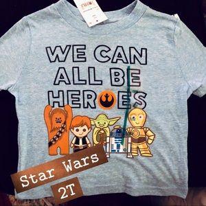 NWT Star Wars Boys T (multiple sizes)
